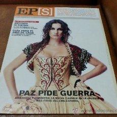 Coleccionismo de Periódico El País: REV. EL PAIS S. 9/2003.- PAZ VEGA AMPL. RPTJE.HARVEY KEITEL,CIENCIA,LOS BEREBERES,ROCKEROS, MODA OTO. Lote 32228348