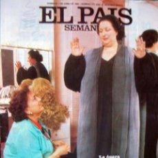 Coleccionismo de Periódico El País: EL PAIS SEMANAL 1986 / MONTSERRAT CABALLE, EL MUNDO DE LA OPERA, VON THYSSEN, ROCKERS. Lote 35525388