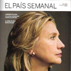 Coleccionismo de Periódico El País: EL PAIS SEMANAL.Nº 1898.FEBRERO 2013.HILLARY CLINTON.CANALES DE AMSTERDAM.COMIC DE MAX EN ARCO.74 PÁ. Lote 35855397