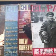 Coleccionismo de Periódico El País: SEMANAL EL PAIS:LA BODA DE ELENA-BERNBARDT-ERIK EL BELGA-DREW BARRYMORE-ULTIMOS DIAS DE HITLER- . Lote 36796127