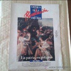 Coleccionismo de Periódico El País: CRONICA DE LA REVOLUCION FRANCESA Nº 3 . EL PAIS. Lote 36572748