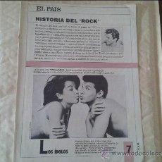 Coleccionismo de Periódico El País: HISTORIA DEL ROCK Nº 7 EL PAIS. Lote 36573686