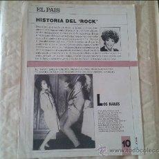 Coleccionismo de Periódico El País: HISTORIA DEL ROCK Nº 10 EL PAIS. Lote 36573707