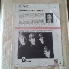 Coleccionismo de Periódico El País: HISTORIA DEL ROCK Nº 12 EL PAIS. Lote 36573715