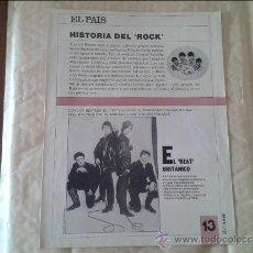 Coleccionismo de Periódico El País: HISTORIA DEL ROCK Nº 13 EL PAIS. Lote 36573727