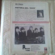 Coleccionismo de Periódico El País: HISTORIA DEL ROCK Nº 14 EL PAIS. Lote 36573736