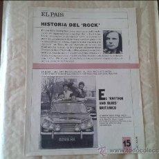 Coleccionismo de Periódico El País: HISTORIA DEL ROCK Nº 15 EL PAIS. Lote 36573741