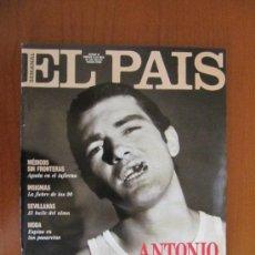 Coleccionismo de Periódico El País: EL PAÍS SEMANAL. ANTONIO BANDERAS. MÉDICOS SIN FRONTERAS. SEVILLANAS CARLOS SAURA. 26 DE ABRIL 1992. Lote 36970426