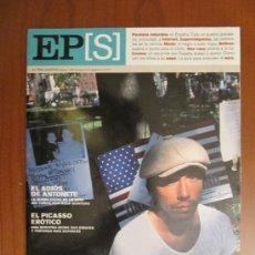 Coleccionismo de Periódico El País: EL PAÍS SEMANAL. IRENE KHAN. LEÓNIDAS. OPERACIÓN TRIUNFO. ALBERT BOADELLA. ELS JOGLARS. 6 ENERO 2002. Lote 37181397