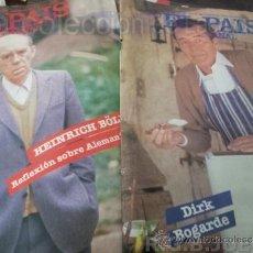 Coleccionismo de Periódico El País: 2 REVISTAS EL PAIS SEMANAL AÑO 1984. Lote 38539987