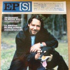 Coleccionismo de Periódico El País: EL PAIS SEMANAL Nº 1323 · 3 DE FEBRERO DE 2002 - PORTADA: RUSSELL CROWE - 98 PÁGINAS -. Lote 38883515