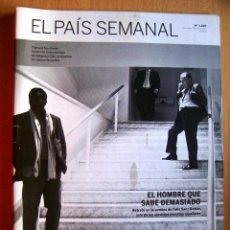 Coleccionismo de Periódico El País: EL PAIS SEMANAL Nº 1887 · 25-11-2002 - PORTADA: FELIX SANZ ROLDAN. Lote 39138571