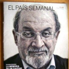Coleccionismo de Periódico El País: EL PAIS SEMANAL Nº 1878 · 23 SEPT 2012 - PORTADA: SALMAN RUSHDIE - 90 PÁGINAS -. Lote 39165536