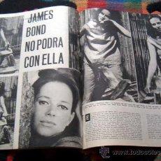 Coleccionismo de Periódico El País: REVISTA TRIUNFO / ALICIA EN EL PAIS DE LAS MARAVILLAS, LUCIANA PALUZZI, EL CORDOBES, PICASSO. Lote 39286279