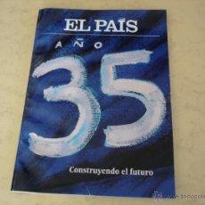 Coleccionismo de Periódico El País: EL PAIS AÑO 35 - ESPECIAL. Lote 40325195