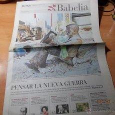 Coleccionismo de Periódico El País: EL PAÍS. BABELIA. 22 SEPTIEMBRE DE 2001. Lote 40924739