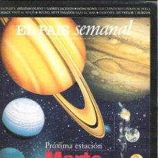 Coleccionismo de Periódico El País: 1 EJEMPLAR REVISTA - EL PAIS SEMANAL - 29 JUNIO 1997 - PROXIMA ESTACION MARTE - LYZ TAYLOR. Lote 41489283