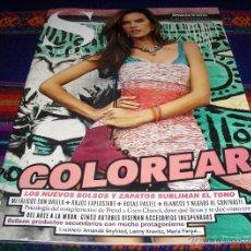 Collezionismo di Periódico El País: EL PAÍS S MODA Nº 127. 22-2-2014. ALESSANDRA AMBROSIO, AMANDA SEYFRIED, LENNY KRAVITZ, MARÍA FANJUL.. Lote 41804989
