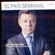 Coleccionismo de Periódico El País: EL PAIS SEMANAL Nº 1891 · 23 DICIEMBRE 2012 - PORTADA: PROTAS DEL MUNDO IBEROAMERICANO - 118 PÁGINAS. Lote 42446924