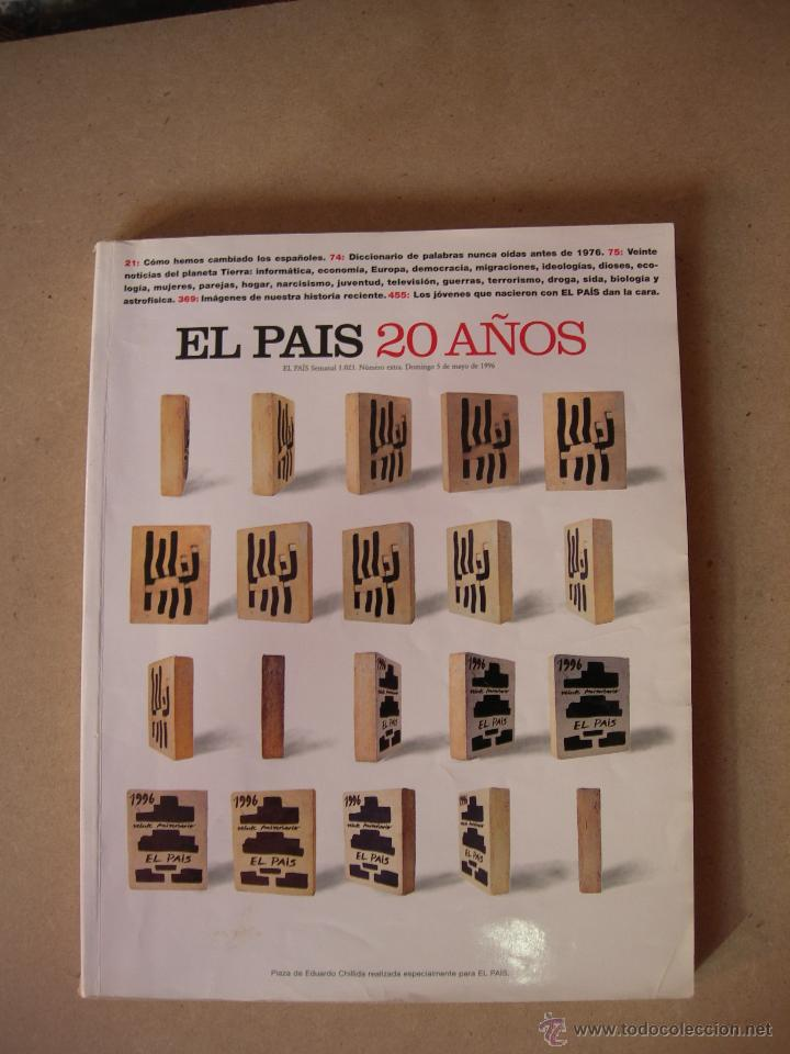 REVISTA EL PAÍS - 20 AÑOS. NÚMERO EXTRA (Coleccionismo - Revistas y Periódicos Modernos (a partir de 1.940) - Periódico El Páis)