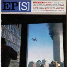 Coleccionismo de Periódico El País: REVISTA EL PAIS SEMANAL EPS 08/09/2002 EXTRA 11S ATENTADOS TORRES GEMELAS NUEVA YORK NY. Lote 45030767