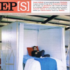 Coleccionismo de Periódico El País: EL PAIS SEMANAL - Nº 1363 - NOVIEMBRE 2002 - SERGIO COFFERATI - CHECHENIA - BAILARINES. Lote 45808077