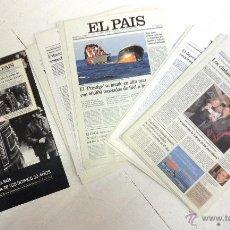Coleccionismo de Periódico El País: LAS PORTADAS DE EL PAÍS. ÚLTIMOS 30 AÑOS. Lote 46092016