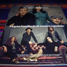 Coleccionismo de Periódico El País: EL PAÍS SEMANAL Nº 1983. 28-9-14. ARIEL ROT, AMARAL, ROSARIO FLORES, COQUE MALLA, ANTONIO CARMONA.... Lote 98028324