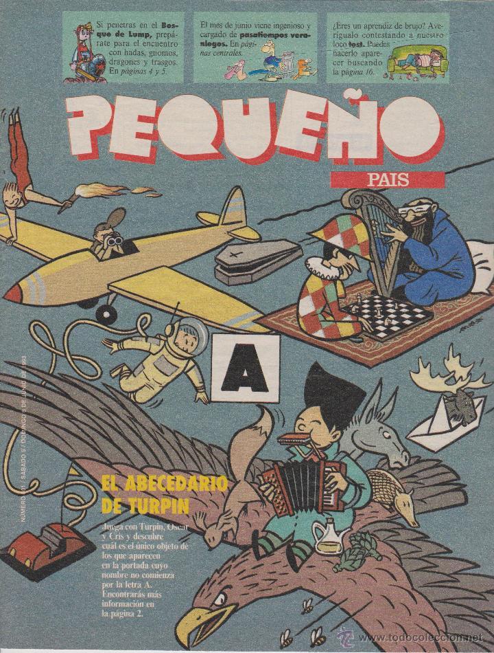 PEQUEÑO PAÍS (Coleccionismo - Revistas y Periódicos Modernos (a partir de 1.940) - Periódico El Páis)