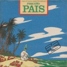 Coleccionismo de Periódico El País: PEQUEÑO PAÍS. Lote 47075768