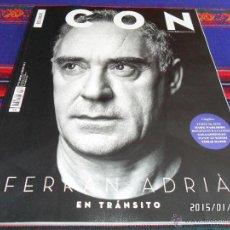 Coleccionismo de Periódico El País: EL PAÍS ICON Nº 13 HOMBRES & ESTILOS. FEBRERO 15. FERRAN ADRIÀ MARK WAHLBERG JAMES MCAVOY. BE.. Lote 47428646