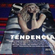 Coleccionismo de Periódico El País: EL PAÍS S MODA Nº 167. 29-11-14. DREE HEMINGWAY MELISSA MCCARTHY ALLEN JONES BROOKE SHIELDS. BE.. Lote 47471387