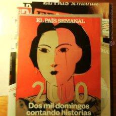 Coleccionismo de Periódico El País: EL PAÍS SEMANAL NÚMERO 2000 DE 25 DE ENERO DE 2015. Lote 47595808