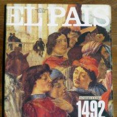 Coleccionismo de Periódico El País: EL PAÍS SEMANAL Nº EXTRA 1492. ASI ERA EL MUNDO ASI ERAMOS NOSOTROS. PUBLICADO 11/10/1992.. Lote 47987911
