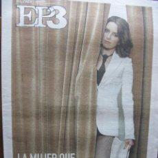 Coleccionismo de Periódico El País: EP3. ELPAIS3. CONCIERTOS PARA LLEVAR (R.E.M.). ALPHABEAT. TINA FEY. 18 DE JULIO DE 2008.. Lote 48528314