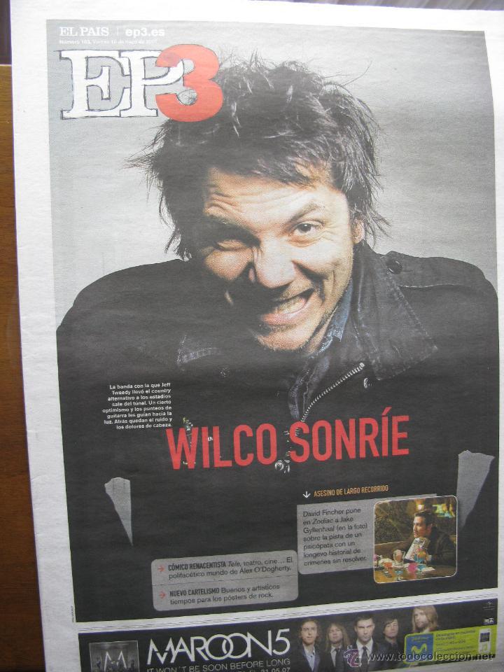 Coleccionismo de Periódico El País: WILCO. ARTICULOS EN REVISTAS TENTACIONES (16.7.2004), EP (18.5.2007) Y BABELIA (10.9.2011) Ver fotos - Foto 2 - 48858546