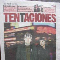 Coleccionismo de Periódico El País: EL PAIS DE LAS TENTACIONES NRO. 585. 7.1.2005.AMARAL:ESTRELLAS DE 2005, ADAM GREEN, ETC. COMPLETO.. Lote 48896292
