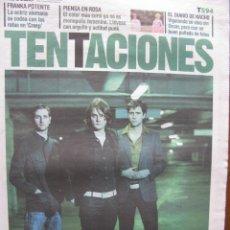 Coleccionismo de Periódico El País: EL PAIS DE LAS TENTACIONES NRO. 594. 11.3.2005, KEANE, NACHO VIGALONGO, ETC. COMPLETO.. Lote 48896365