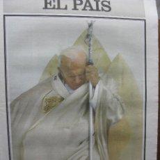 Coleccionismo de Periódico El País: EL PAIS. EXTRA. JUAN PABLO II EL GUARDIÁN DE LA TRADICIÓN. 25 AÑOS AL FRENTE DE LA IGLESIA.. Lote 48898237
