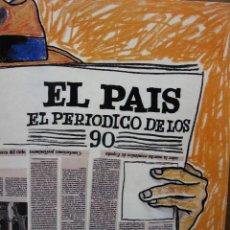 Coleccionismo de Periódico El País: EL PAÍS. EL PERIÓDICO DE LOS 90. (HACE 14 AÑOS QUE EL PAÍS SALIÓ A LA CALLE, EL 4 DE MAYO DE 1976,... Lote 49141018