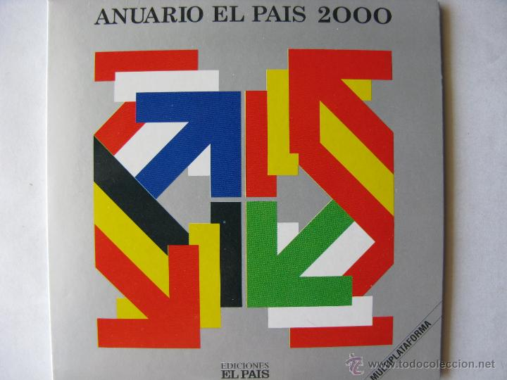 LOTE ANUARIO EL PAÍS 2000 - 2001 Y 2002, EN CD. (NUEVOS - VER FOTOGRAFÍAS) (Coleccionismo - Revistas y Periódicos Modernos (a partir de 1.940) - Periódico El Páis)
