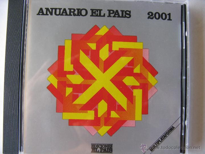 Coleccionismo de Periódico El País: LOTE ANUARIO EL PAÍS 2000 - 2001 Y 2002, EN CD. (NUEVOS - VER FOTOGRAFÍAS) - Foto 2 - 49760186