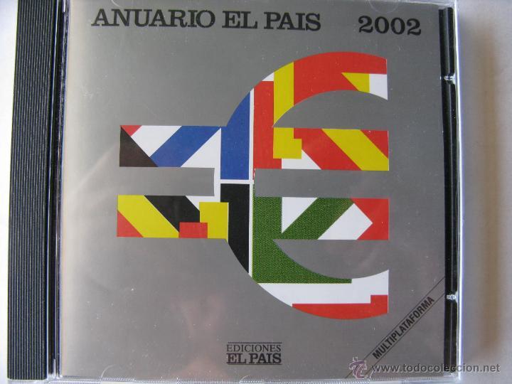 Coleccionismo de Periódico El País: LOTE ANUARIO EL PAÍS 2000 - 2001 Y 2002, EN CD. (NUEVOS - VER FOTOGRAFÍAS) - Foto 3 - 49760186