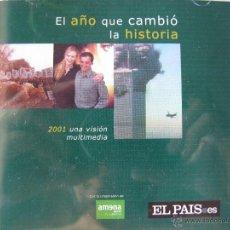 Coleccionismo de Periódico El País: EL AÑO QUE CAMBIÓ LA HISTORIA. 2001 UNA VISIÓN MULTIMEDIA. EL PAIS.ES. CD-ROM. Lote 49760448