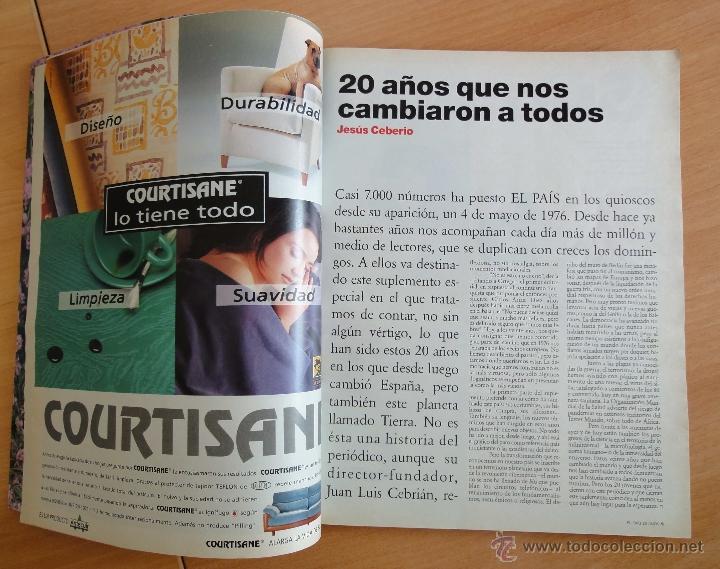 Coleccionismo de Periódico El País: interior - Foto 3 - 50703262