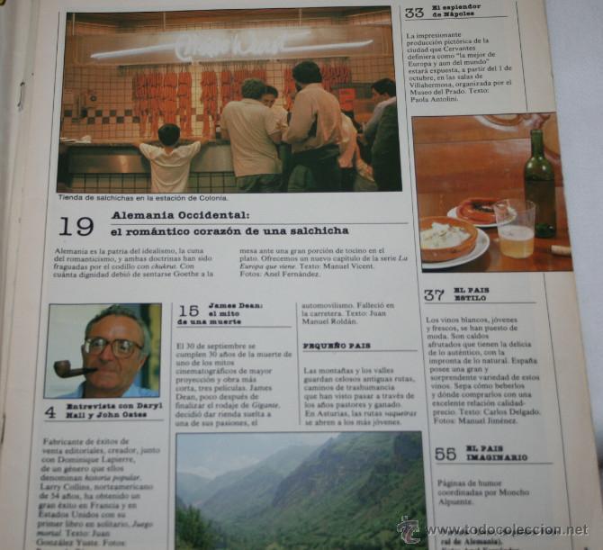 Coleccionismo de Periódico El País: REVISTA EL PAIS SEMANAL Nº 442 SEPTIEMBRE 1985, LA EUROPA QUE VIENE, ALEMANIA OCCIDENTAL - Foto 2 - 51101323