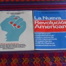 Coleccionismo de Periódico El País: EL PAÍS SEMANAL Nº 1992 Y MUJERES. 30-11-2014. LA NUEVA REVOLUCIÓN AMERICANA ESTUDIANTES LATINOS.. Lote 51300992