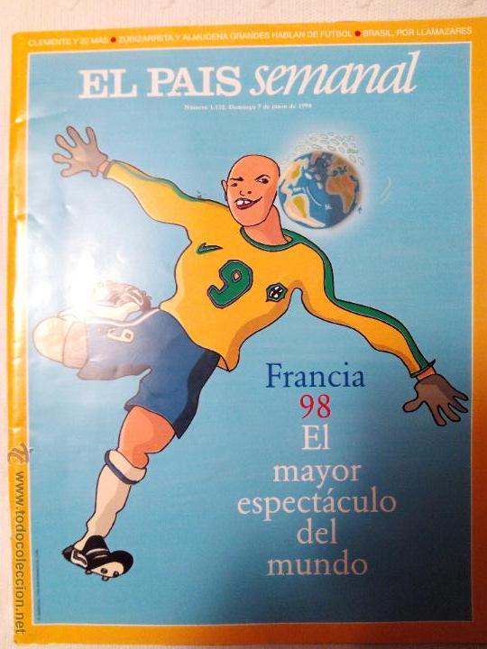 ESPECIAL EL PAIS SEMANAL MUNDIAL 1998 (Coleccionismo - Revistas y Periódicos Modernos (a partir de 1.940) - Periódico El Páis)