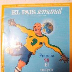Coleccionismo de Periódico El País: ESPECIAL EL PAIS SEMANAL MUNDIAL 1998. Lote 51612741