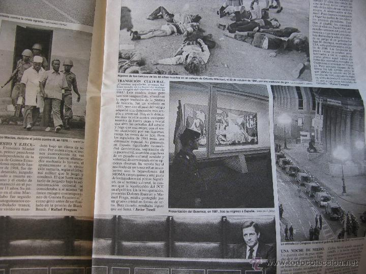 Coleccionismo de Periódico El País: IMÁGENES 1976-2001. MANUEL VICENT. ADOLFO SUAREZ, RODRIGO RATO, ANA TORROJA,ETC. VER FOTOGRAFÍAS. - Foto 3 - 51616683